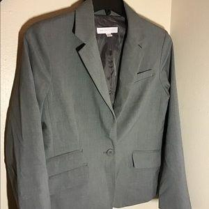 Newyork and Company gray blazer